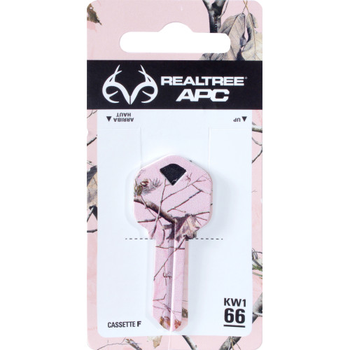 Xtra Pink Camo Kwikset Key Blank