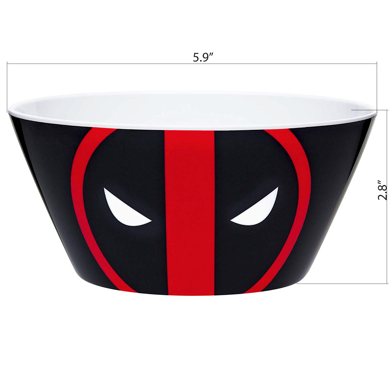 Marvel Comics Dinnerware Set, Deadpool, 2-piece set slideshow image 7