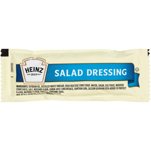 HEINZ Single Serve Salad Dressing, 12 gr. Packets (Pack of 200)