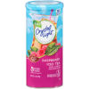Crystal Light Raspberry Iced Tea Drink Mix 6 count Canister