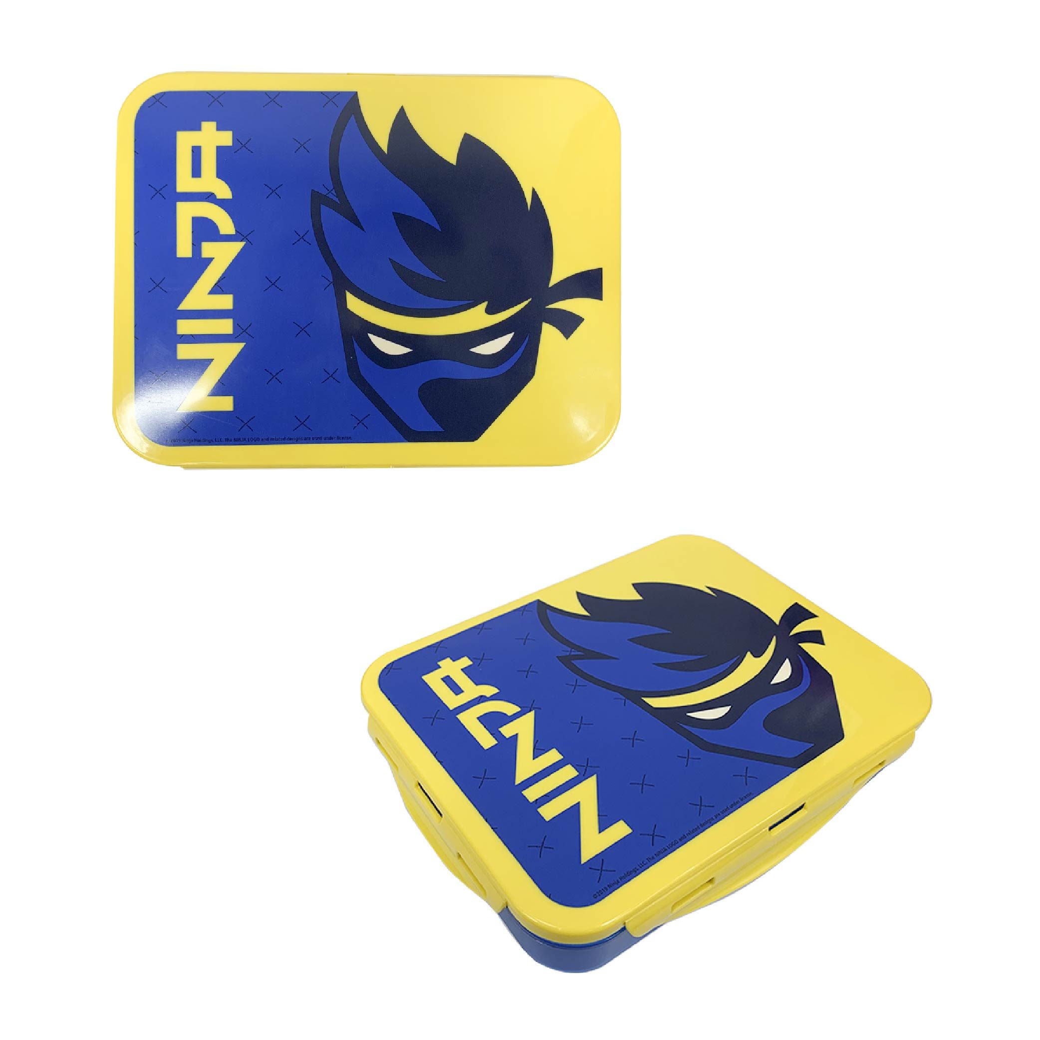 Ninja 3-section Reusable Bento Boxes, Video Games, 2-piece set slideshow image 7