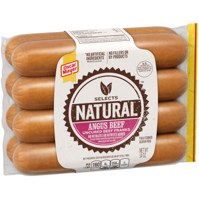 Oscar Mayer Selects Angus Beef Franks 14 oz