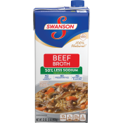 50% Less Sodium Beef Broth