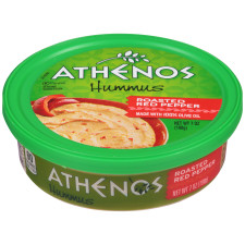 Athenos Roasted Red Pepper Hummus 7 oz Tub