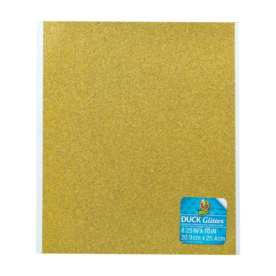 Duck Glitter® Sheets - Gold, 8.25 in x 10 in Image