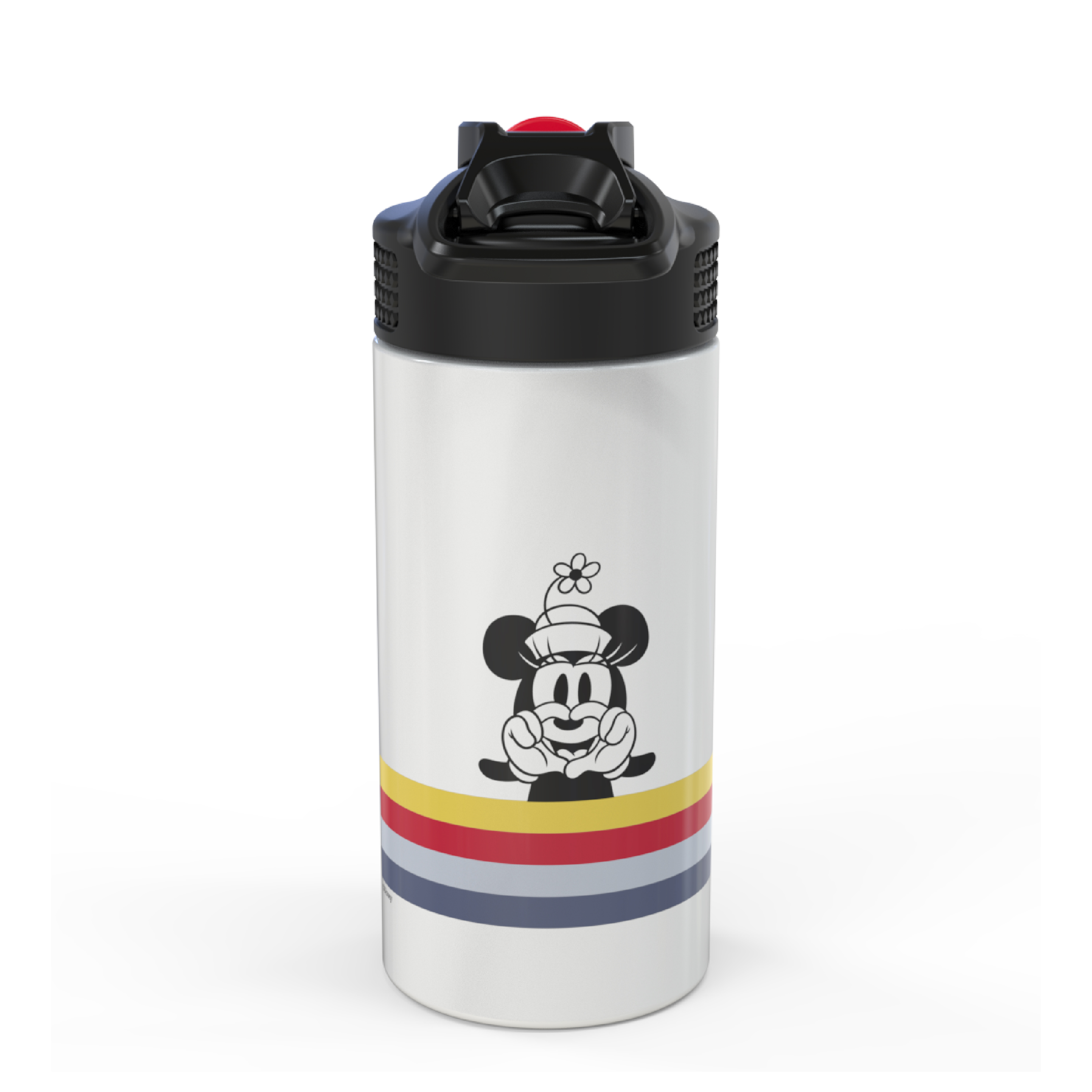 Disney 14 ounce Stainless Steel Vacuum Insulated Water Bottle, Mickey Mouse and Minnie Mouse slideshow image 2