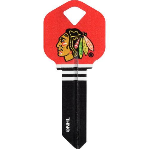 NHL Chicago Blackhawks Key Blank