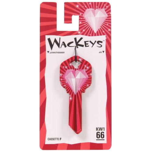 WacKey Bling Heart Key Blank WR5