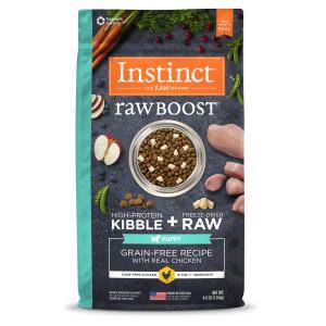 Raw Boost Puppy Chicken Dry Dog Food