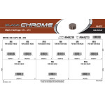 Black Chrome Metric Bolt Caps Assortment (M6 thru M10)