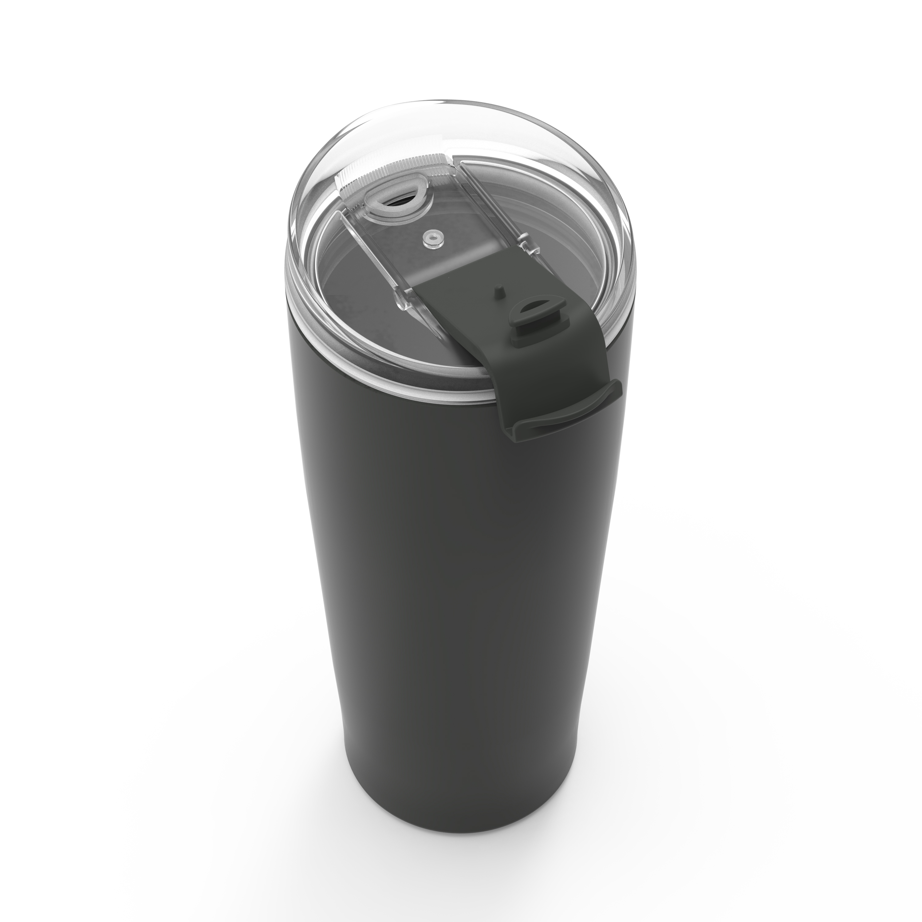 Aberdeen 30 ounce Insulated Tumbler, Charcoal slideshow image 4