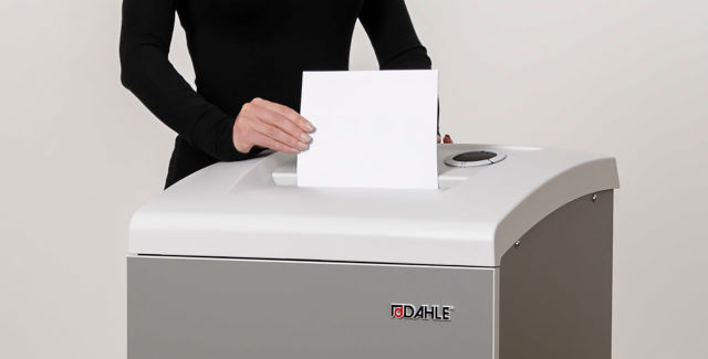 Dahle shredders are your best line of defense in preventing unauthorized access to secure information.
