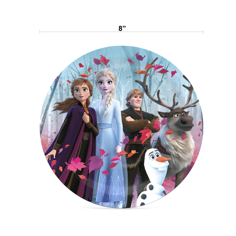 Disney Frozen 2 Movie Dinnerware Set, Anna, Elsa and Friends, 5-piece set slideshow image 4