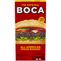 BOCA All American Flame Grilled Burgers 4 ct Box image