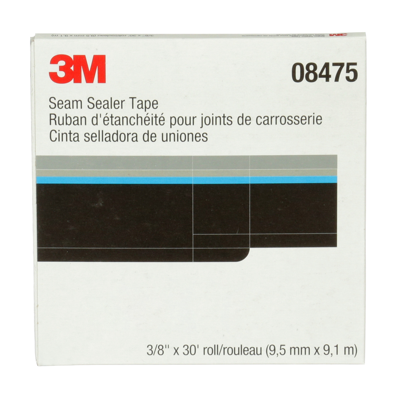 3M™ Seam Sealer Tape, 08475, 3/8 in x 30 ft, 12 per case