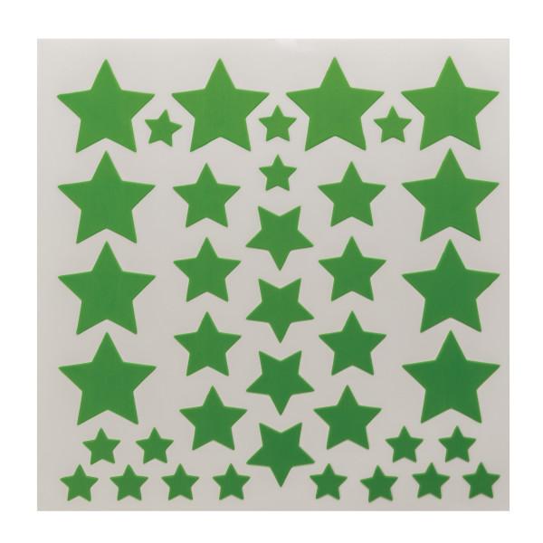 Color Splash Stars Fondant DecoShapes®