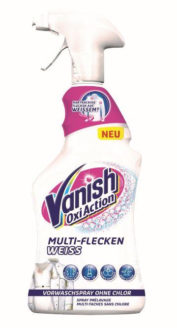 Vanish Vorwaschspray Weiß