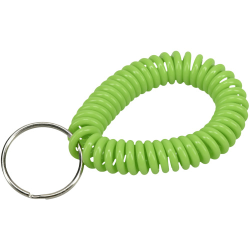 Assorted Wrist Coil Key Chain 60 Pack