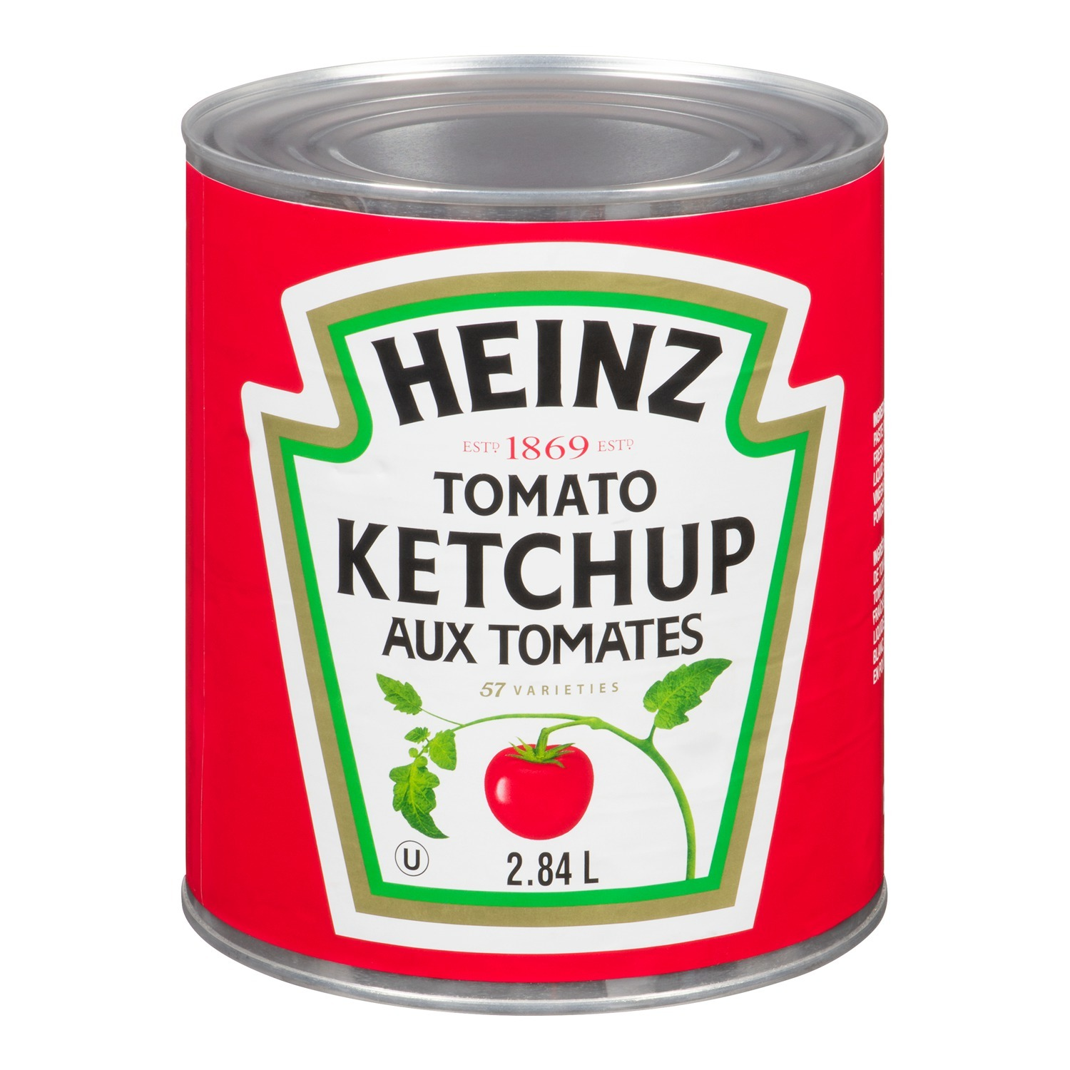HEINZ Ketchup #10 Can 2.84L 6
