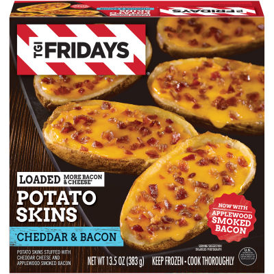 T.G.I Friday's™ Loaded Bacon & Cheddar Potato Skin 13.5 oz Box