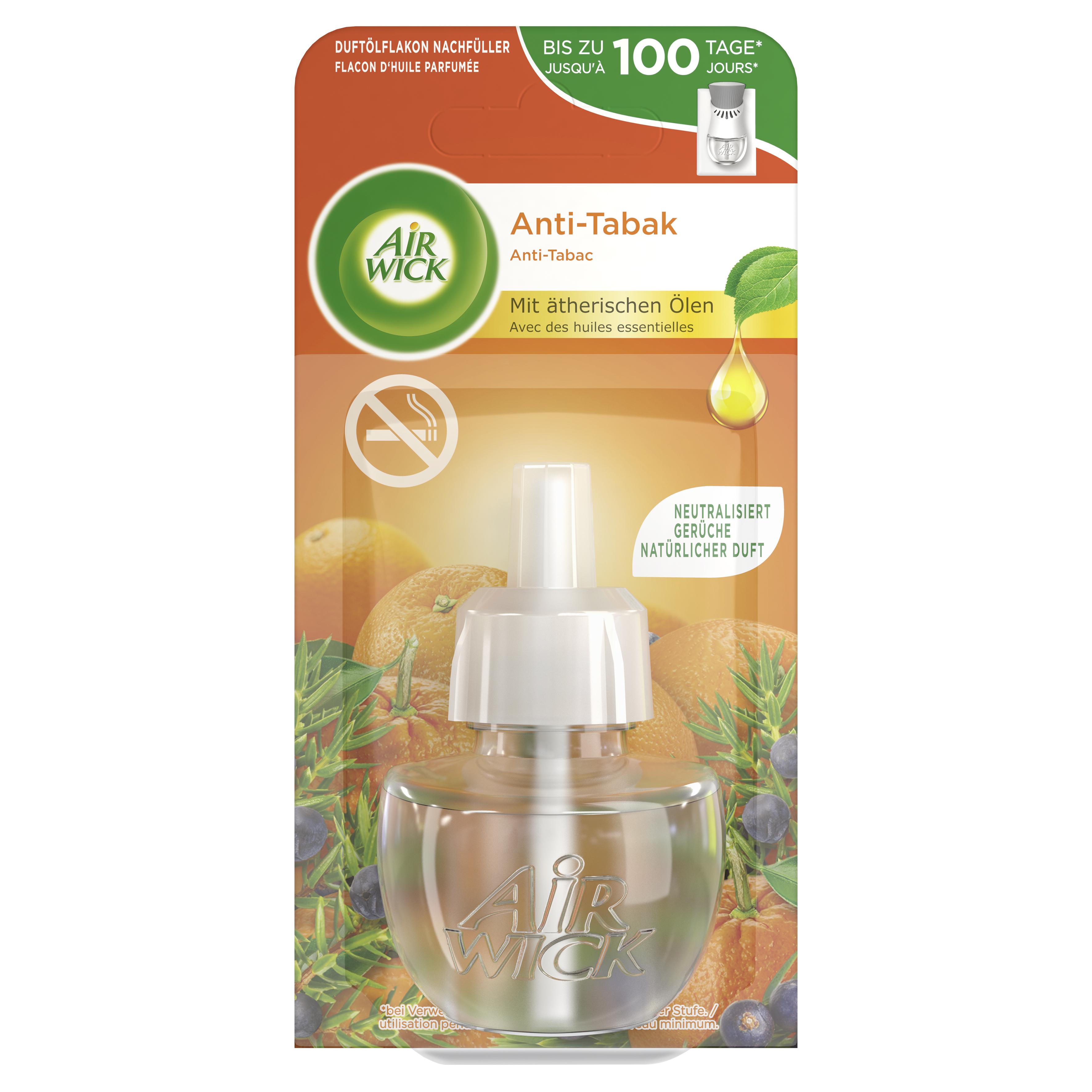 Air Wick Duftölflakon Nachfüller Anti-Tabak