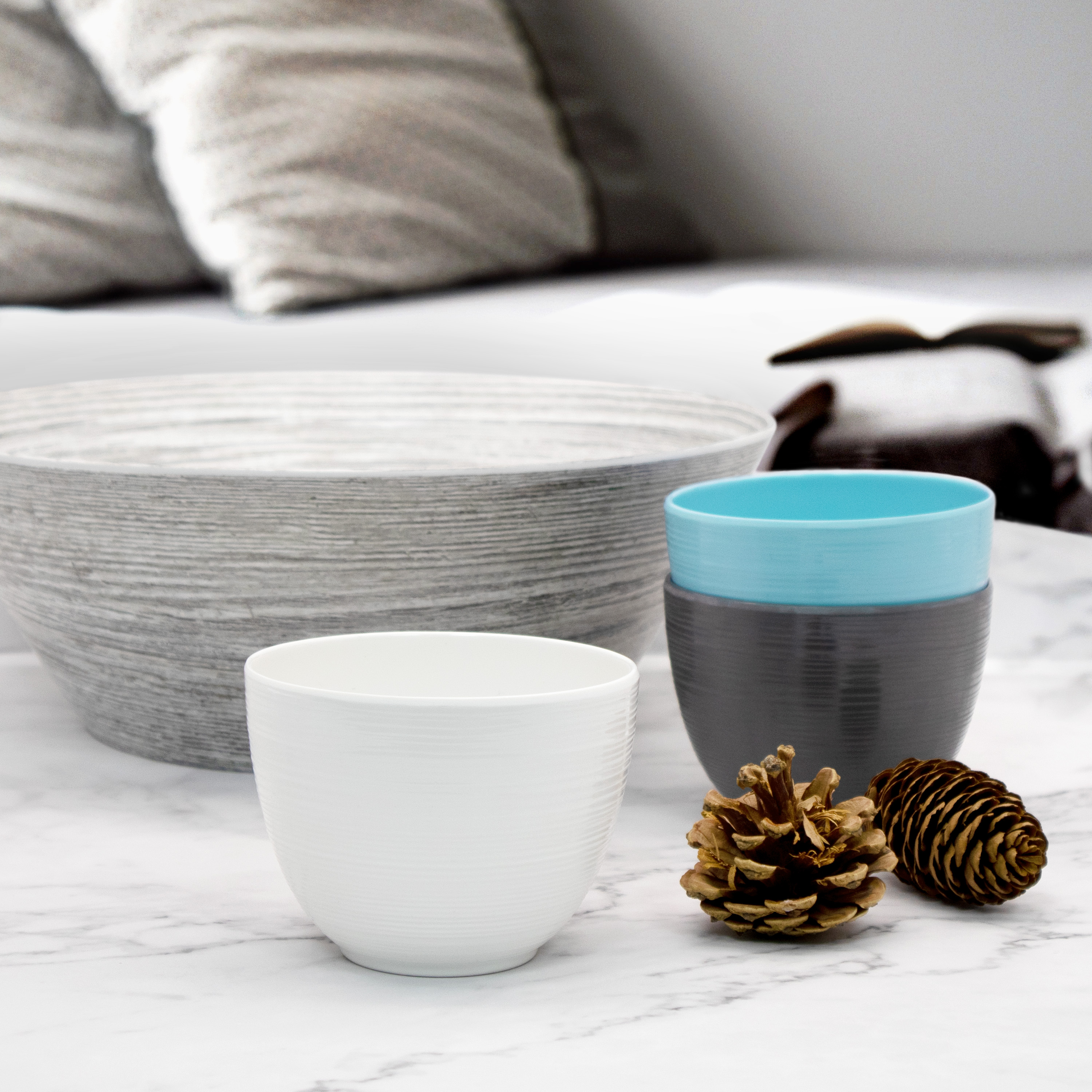 Zak Style Serving and Dip Bowls, Assorted Colors, 4-piece set slideshow image 5