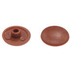 Brown Trim Caps (for 10mm Hex Socket Connector Screw Head)