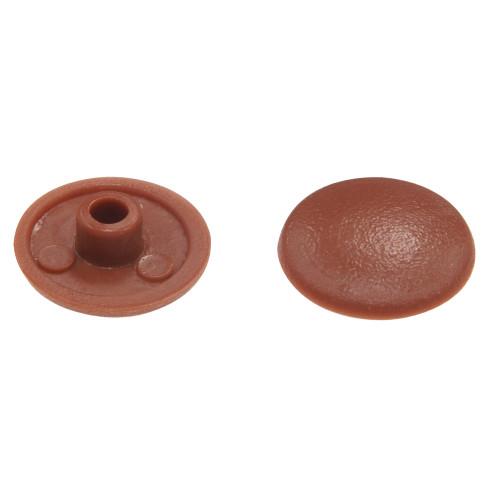 Brown Trim Caps (for 10mm Hex Socket Connector Screw Head)