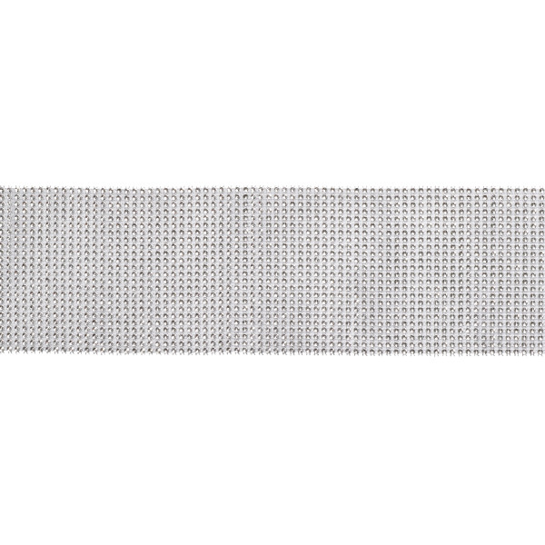 "Silver Sparkle 4.65"" x 10 yards Ribbon"