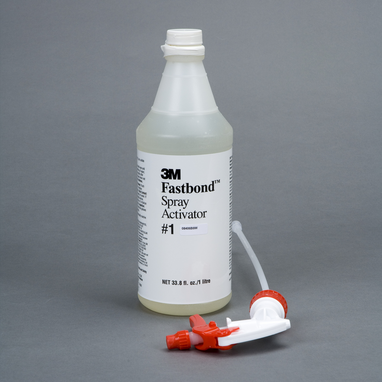 3M™ Fastbond™ Spray Activator 1, 1 Liter Bottle with Sprayer, 6/case