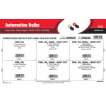 Heavy Duty Stop & Signal Automotive Bulbs Assortment (#3156, #3457, & #3457NA)
