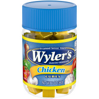 Wyler's Chicken Bouillon Cubes 2 oz Jar image