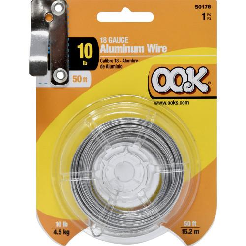 OOK Aluminum Hobby Wire 18 Gauge 50'