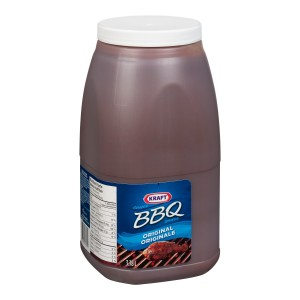 KRAFT Barbecue Sauce Regular 3.78L 2 image
