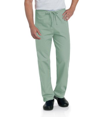 Landau Essentials Reversible Scrub Pants for Men and Women: Unisex, Classic Relaxed Fit, Drawstring Medical Scrubs 7602-
