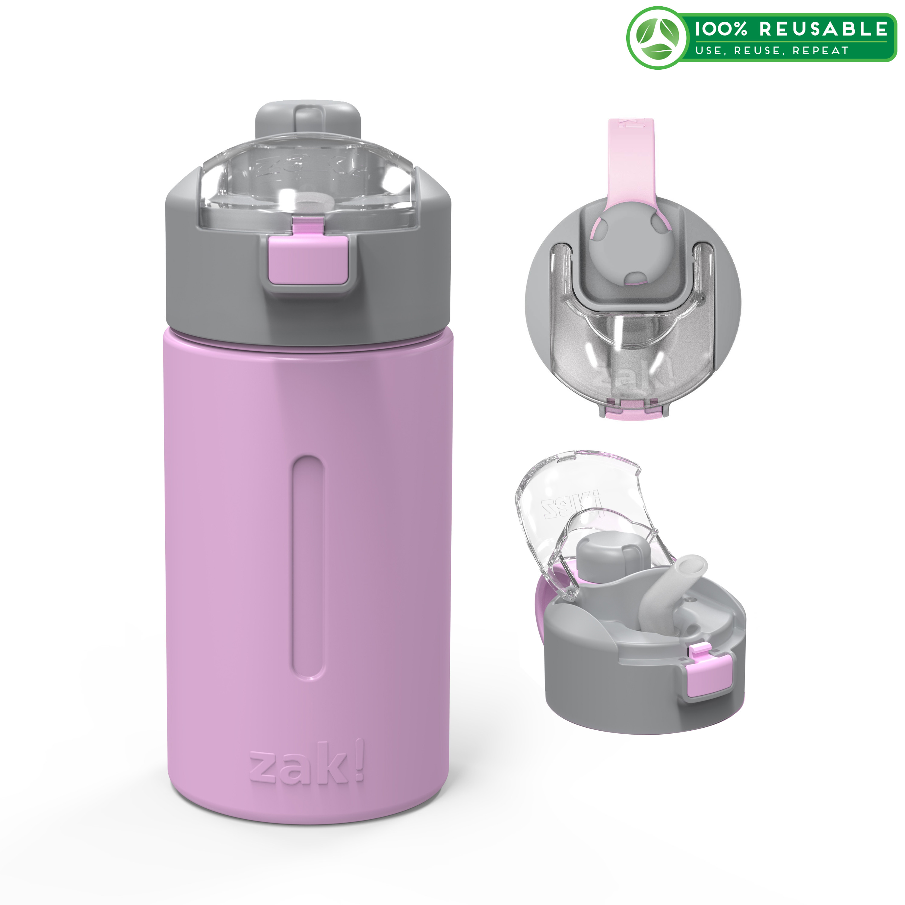 Genesis 12 ounce Vacuum Insulated Stainless Steel Tumbler, Lilac slideshow image 1