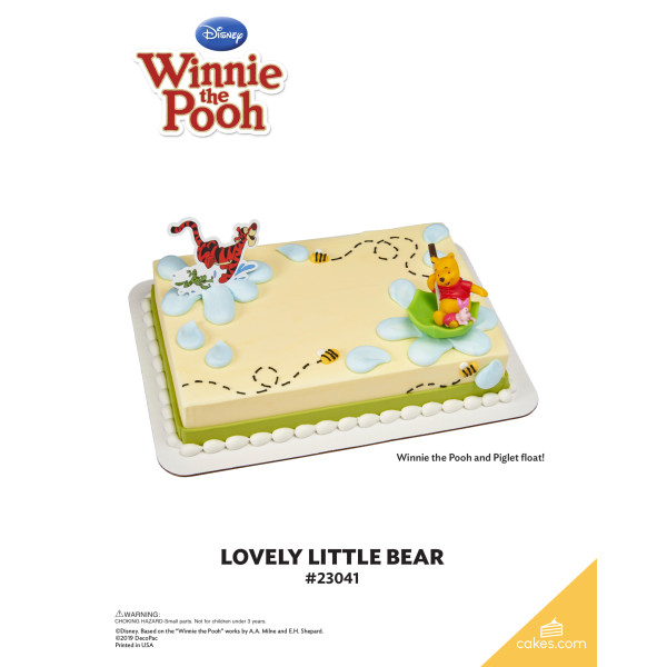 Winnie the Pooh Lovely Little Bear DecoSet® The Magic of Cakes® Page