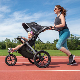 Victory Plus Compact Fold Jogging Stroller