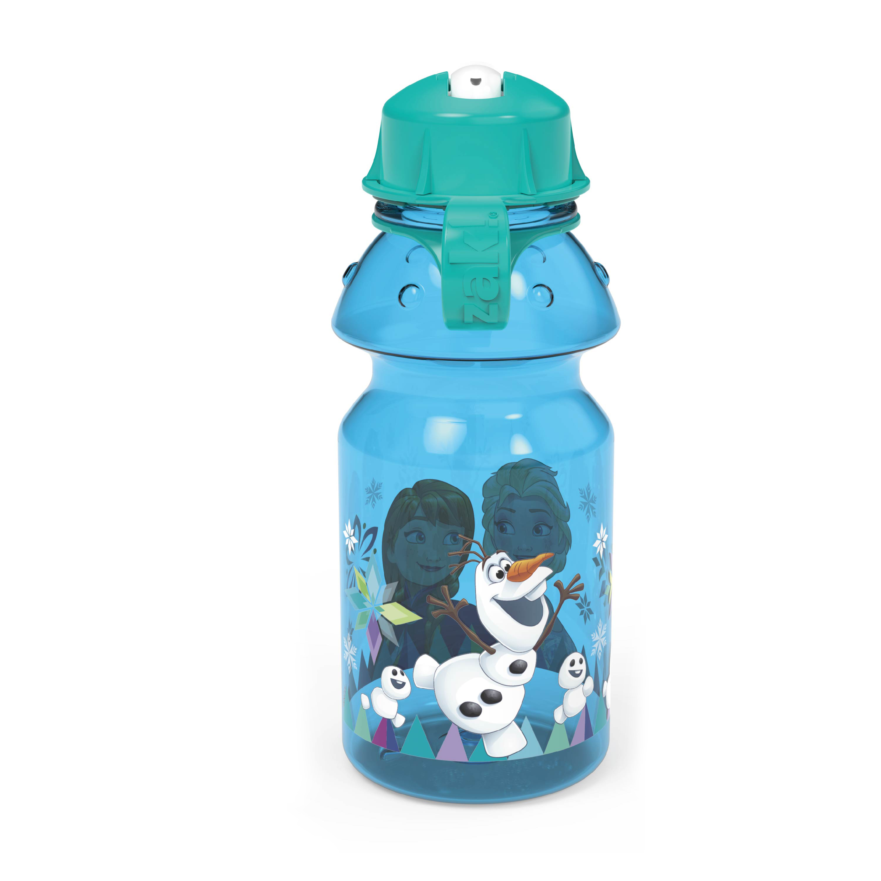 Disney Frozen 14 ounce Water Bottle, Anna, Elsa and Olaf slideshow image 5