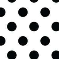 Swatch for Duck Washi® Crafting Tape - Black Pin Dot, .75 in. x 240 in.