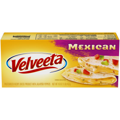 Velveeta Mexican Mild Cheese 16 oz Box