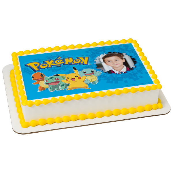 Pokémon™ Pikachu & Friends PhotoCake® Edible Image® Frame
