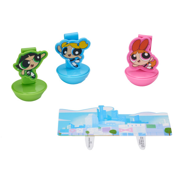 The Powerpuff Girls™ The Day is Saved! DecoSet®