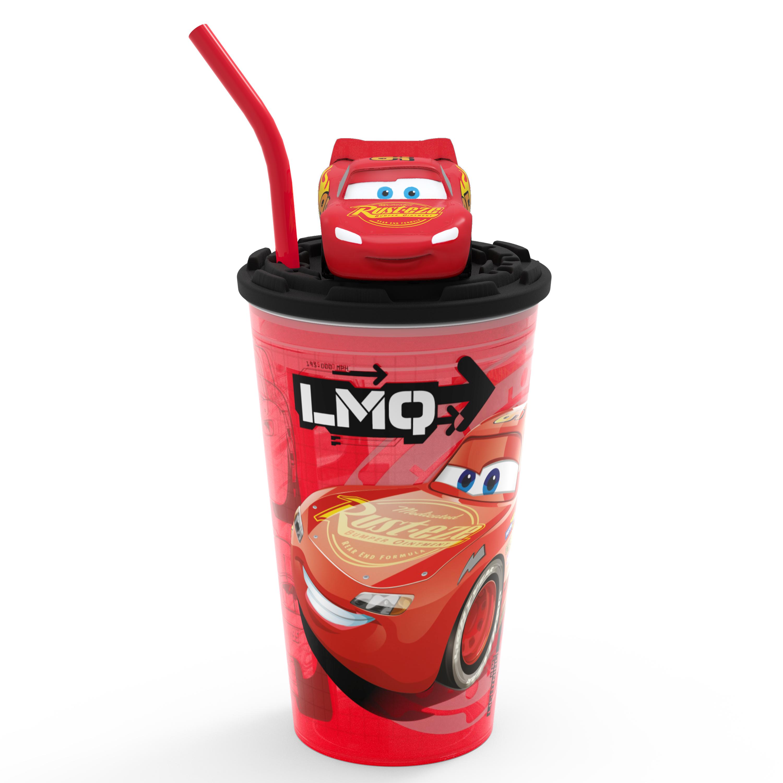 Disney and Pixar Cars 3 Movie 15 ounce Kid's Tumbler, Lightning McQueen slideshow image 9