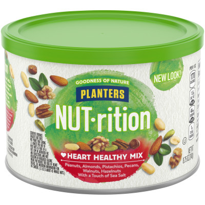 Planters NUT-rition Heart Healthy Mix 8.75 oz Canister