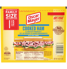 Oscar Mayer Cooked Ham 16 oz Pack