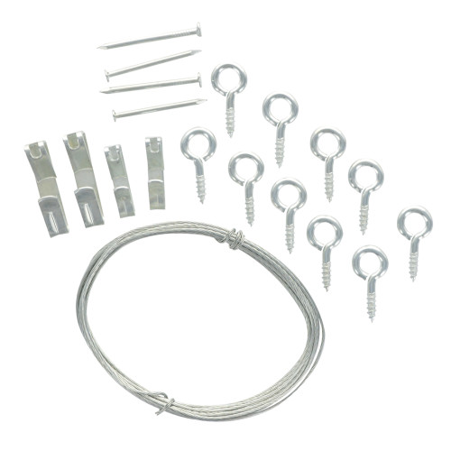 OOK Brass Conventional Picture Hanging Kit 10lb-20lb