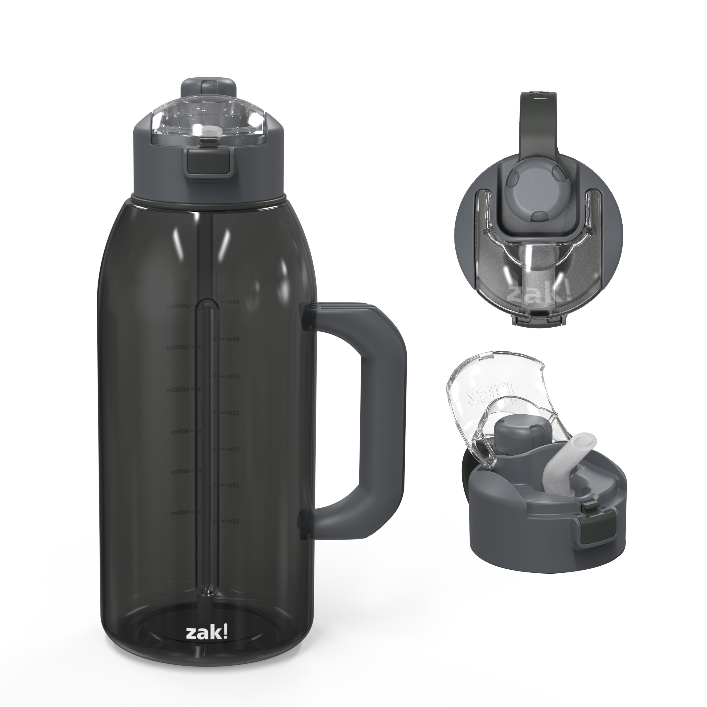 Genesis 64 ounce Water Bottle, Charcoal slideshow image 2