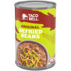 Taco Bell Original Refried Beans, 16 oz Can