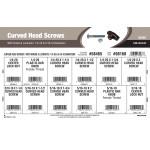 """Curved Head Screws with Knobs & Locknuts Assortment (1/4""""-20 & 5/16""""-18 Diameters)"""
